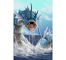 GYARADOS THE GREAT  Photographic Print