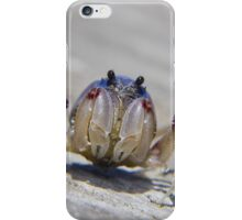 Super crab 01 iPhone Case/Skin