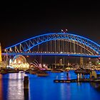 Vivid Sydney from Lavender Bay by Erik Schlogl