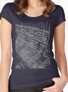modular synthesizer T Women's Fitted Scoop T-Shirt