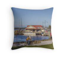 Strahan, Tasmania, Australia Throw Pillow
