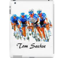 Cyclist Tee Shirt iPad Case/Skin