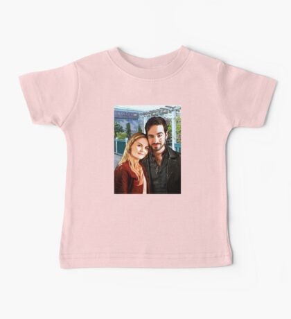 "Captain Swan ""In Love in Storybrooke"" Baby Tee"