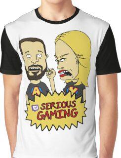 Serious Gaming Retro Tv Graphic T-Shirt