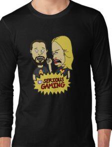 Serious Gaming Retro Tv Long Sleeve T-Shirt