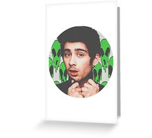 Zayn Malik  Greeting Card