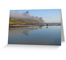 Tidal pool at the Cape of Good Hope Greeting Card