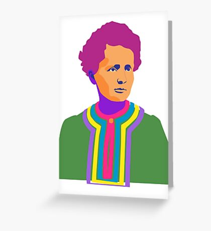 Curie Greeting Card
