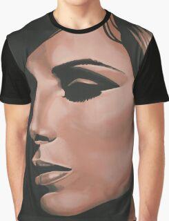Barbra Streisand painting Graphic T-Shirt