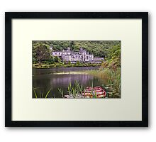 Kylemore Abbey, Connemara, County Galway, Ireland Framed Print
