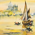 Arrival at Venice by Rasendyll