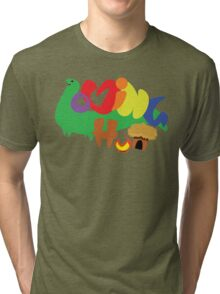Loving Hut 01 Tri-blend T-Shirt