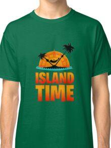 """Island Time"" Jimmy Buffett margaritaville vetteran Classic T-Shirt"