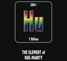 Hu The Element of Hue-Manity Outline by Samuel Sheats