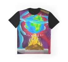 Earth on Fire Graphic T-Shirt