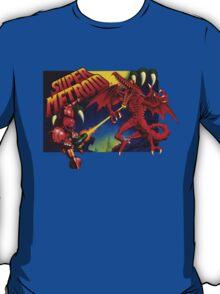 Super Metroid Box Art T-Shirt