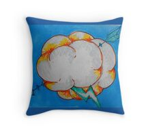 Pierce the Storm Throw Pillow