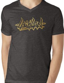 Lachlan | LIMITED EDITION! | GOLD FOIL TSHIRT | NEW! | HIGH QUALITY! Mens V-Neck T-Shirt