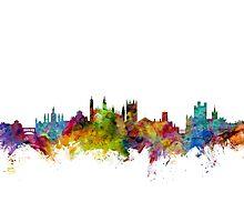 Cambridge England Skyline Photographic Print