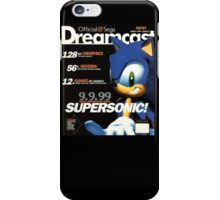 Sega Dreamcast official Magazine iPhone Case/Skin