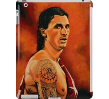 Zlatan Ibrahimovic painting iPad Case/Skin