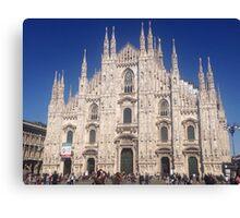 Milan Cathedral Duomo Canvas Print