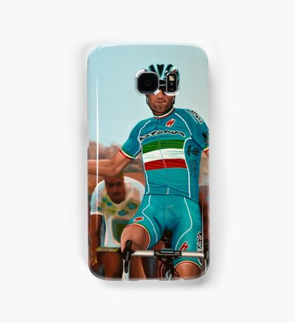 Vincenzo Nibali Painting Samsung Galaxy Case/Skin