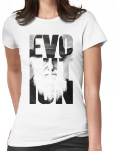 Claim to Fame Series 01 - Charles Darwin Womens Fitted T-Shirt
