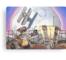 WALL-E & CL4P-TP Canvas Print
