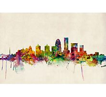 Louisville Kentucky City Skyline Photographic Print