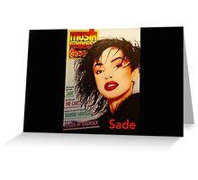 Sade's Musik Greeting Card