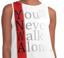 You'll Never Walk Alone YNWA 96 Liverpool Contrast Tank