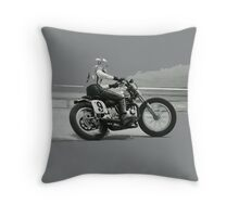 Dirtbike Motoracer Throw Pillow
