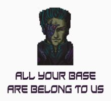 aybabtu all your base are belong to us t shirt Kids Clothes
