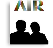 Air - French Band - Talkie Walkie Canvas Print