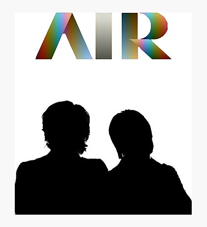 Air - French Band - Talkie Walkie Photographic Print