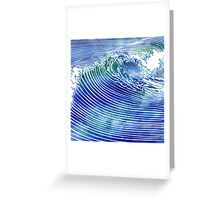 Atlantic Waves Greeting Card