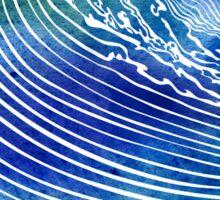Atlantic Waves Sticker
