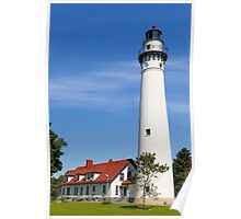 Wisconsin's Wind Point Lighthouse Poster