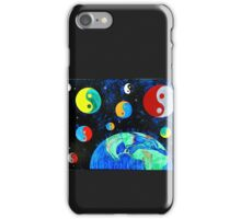 """World Goes Round"" by Jessica R Ojeda iPhone Case/Skin"