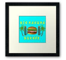 Pulp Fiction - Big Kahuna Burger Framed Print
