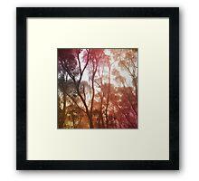 Hazy Framed Print