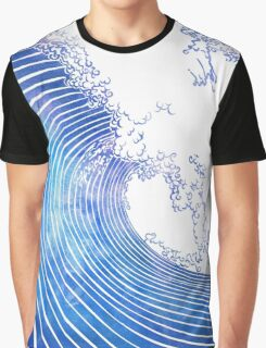 Pacific Waves III Graphic T-Shirt