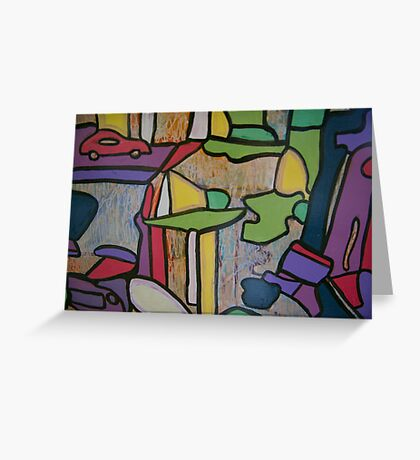 Urban Culture - On the Road Greeting Card