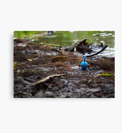 Mudkip in the Mud Canvas Print