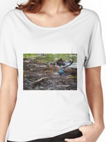 Mudkip in the Mud Women's Relaxed Fit T-Shirt