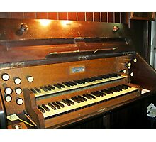A Very Old Pipe Organ Photographic Print