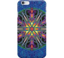 Unique abstract poster designs-Magma Clover iPhone Case/Skin