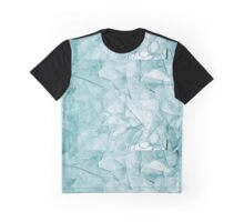 Cracked Glass Art Graphic T-Shirt