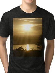 *Glorious Golden Light* Tri-blend T-Shirt